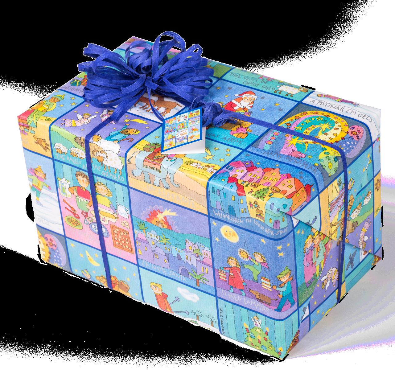 Memory Weihnachten | Kinder Weihnachts-Geschenkpapier