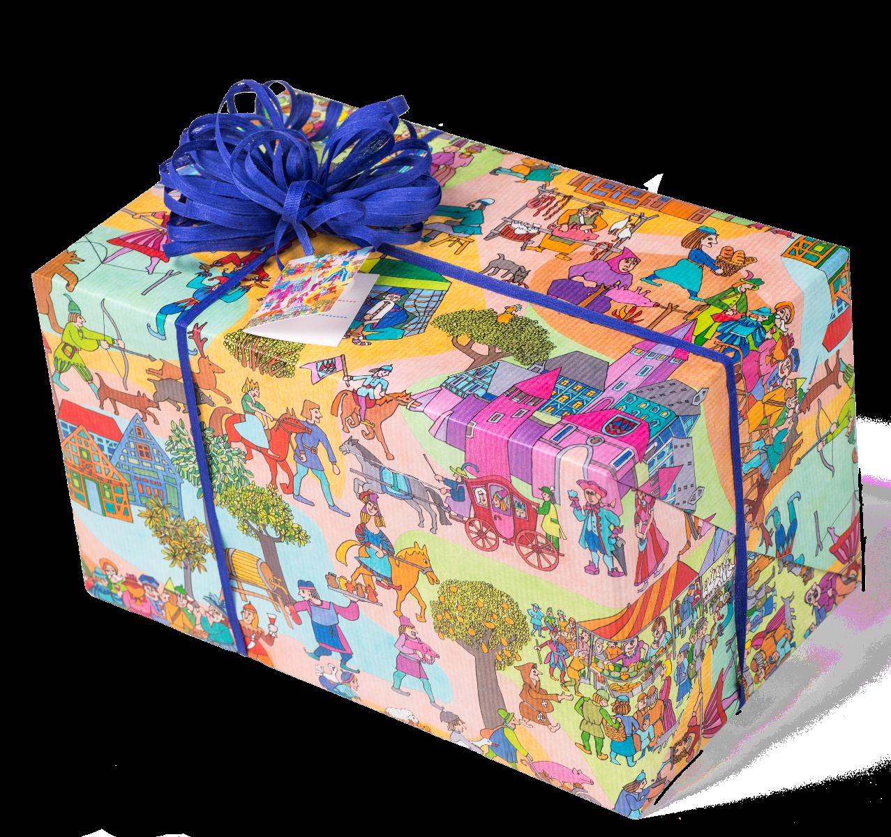 Ritterzeit | Geschenkpapier
