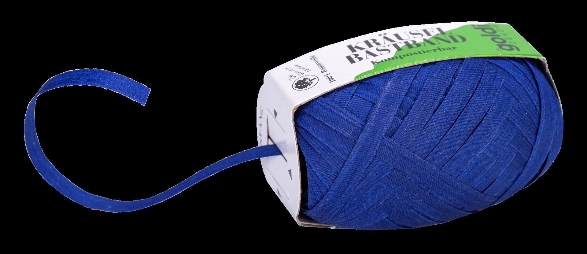 Geschenkband Baumwolle | Blau | umweltfreundlich