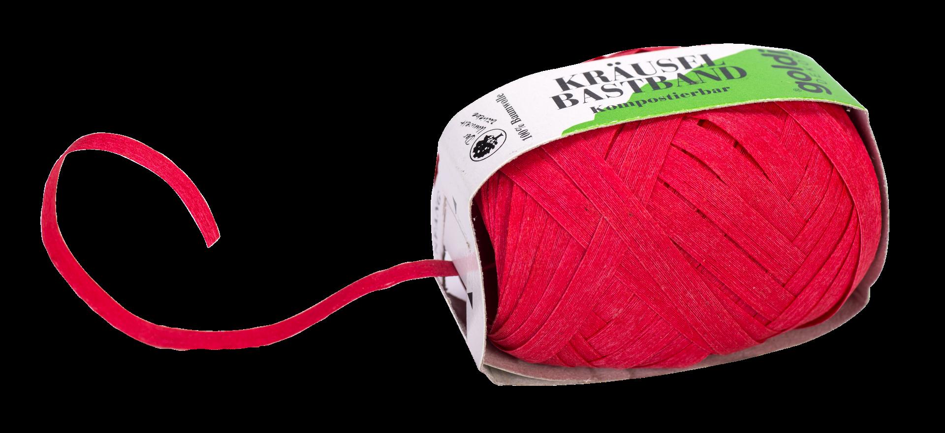 Geschenkband Baumwolle | Rot | umweltfreundlich