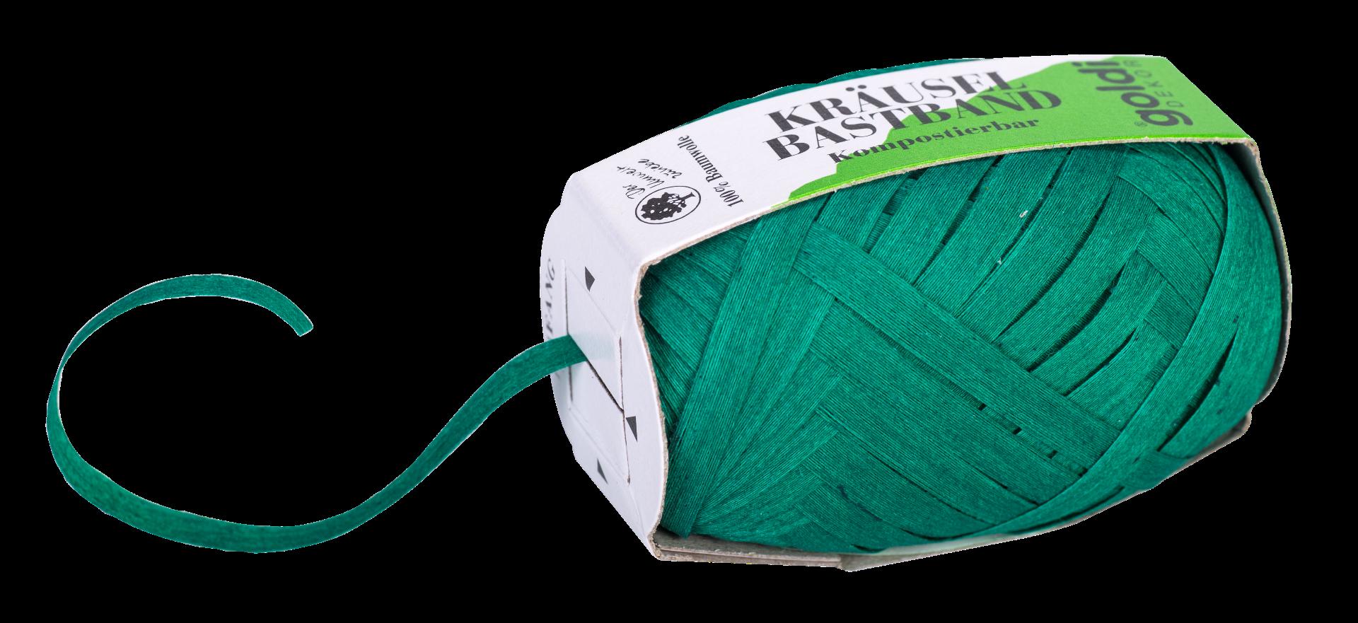 Geschenkband Baumwolle | Gras-Grün | umweltfreundlich