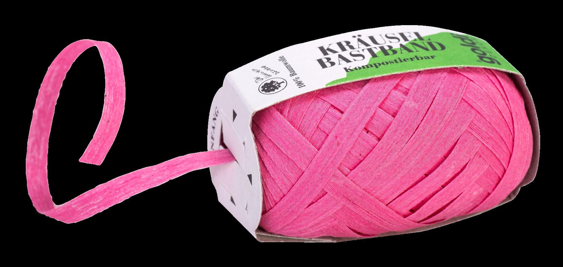 Geschenkband Baumwolle | Pink | umweltfreundlich