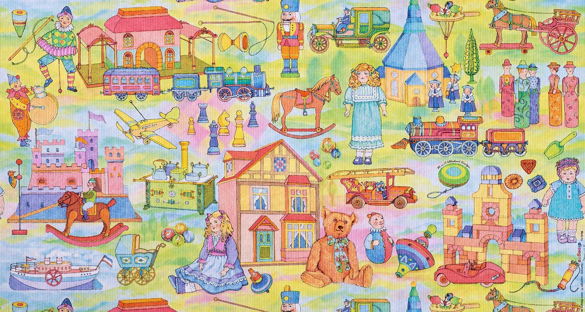 Geschenkpapier Kinder | Classic | Geschenkpapieransicht
