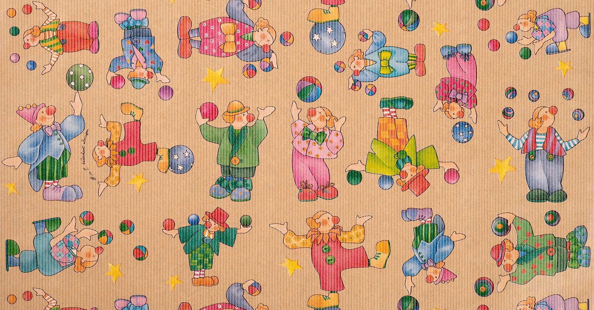 Geschenkpapier Kinder | Pepino Natur | Geschenkpapieransicht