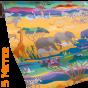 Safari Geschenkpapier Tiere | Wildlife