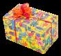 Crazy Party | Geschenkpapier Kindergeburtstag