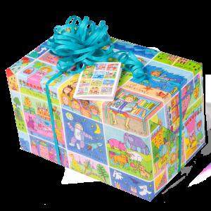 Geschenkpapier Kinder | Memory | Geschenk