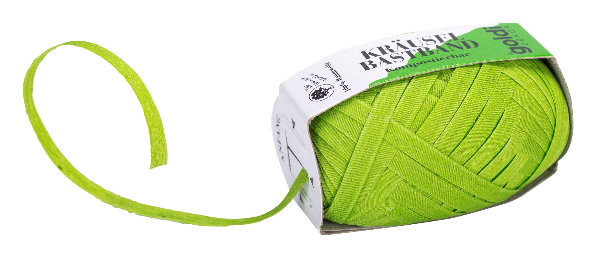Geschenkband Apfel-Grün