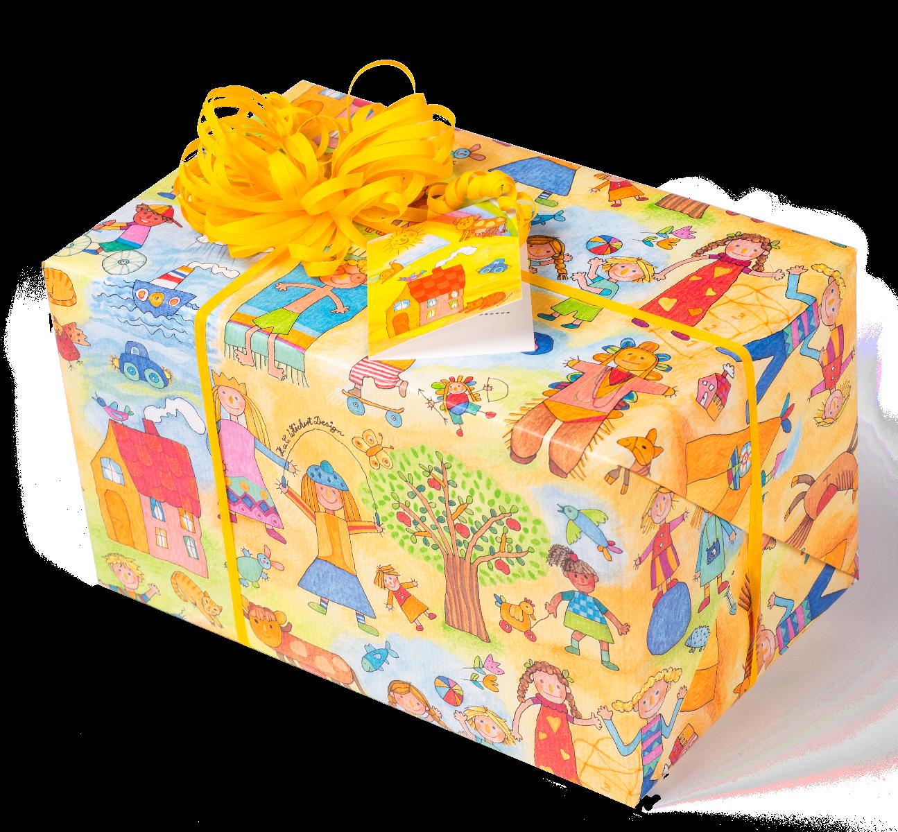 Kinder-Kinder | Geschenkpapier