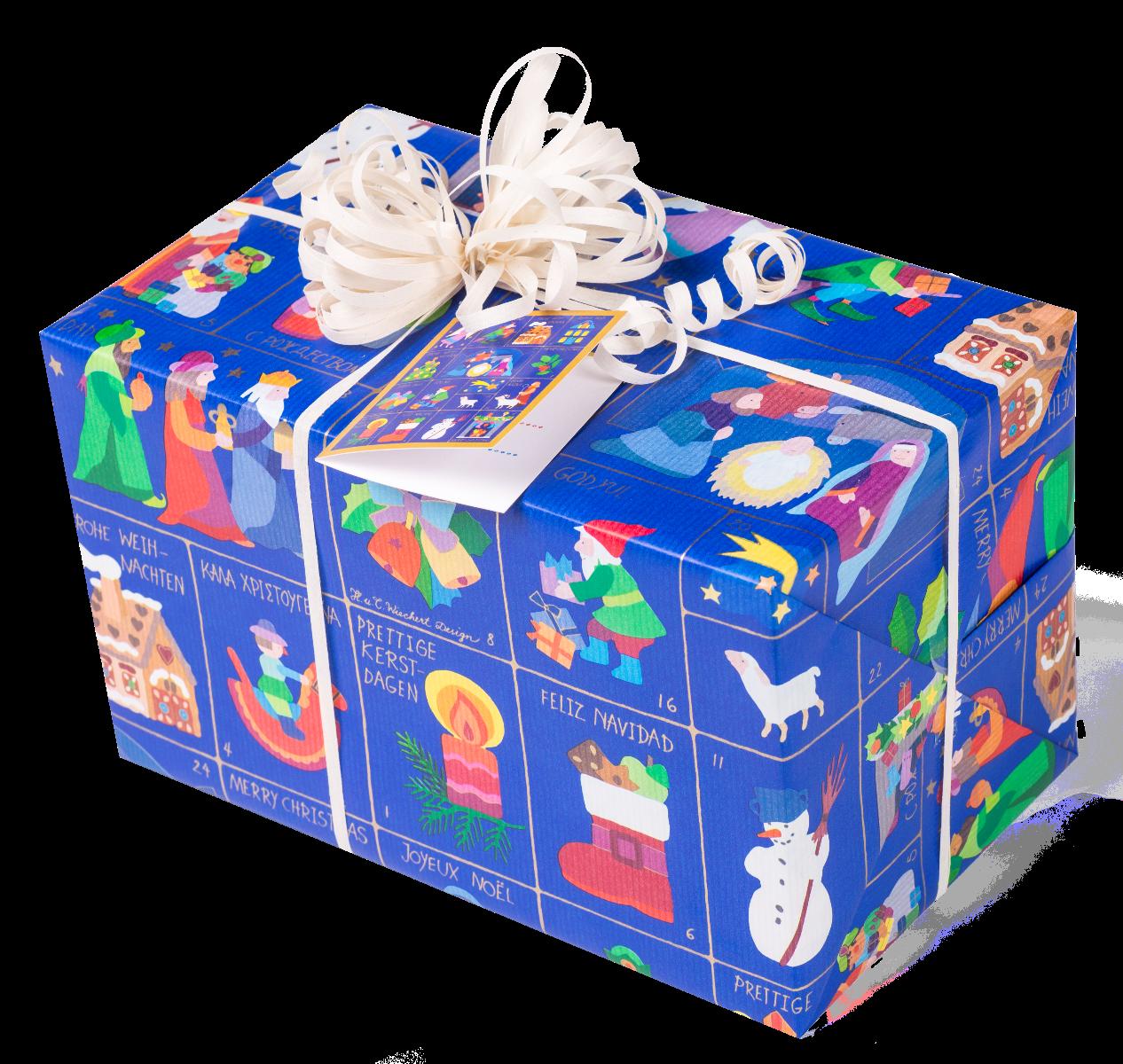 Weihnachtszeit | Kinder Weihnachts-Geschenkpapier