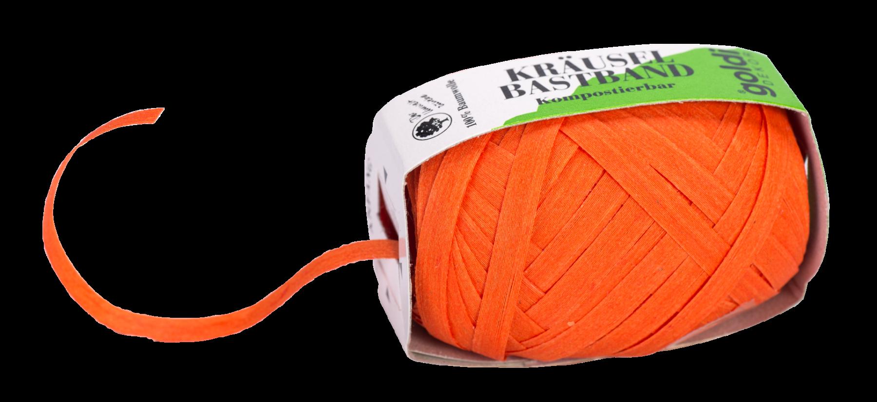 Geschenkband Baumwolle | Apricot | umweltfreundlich