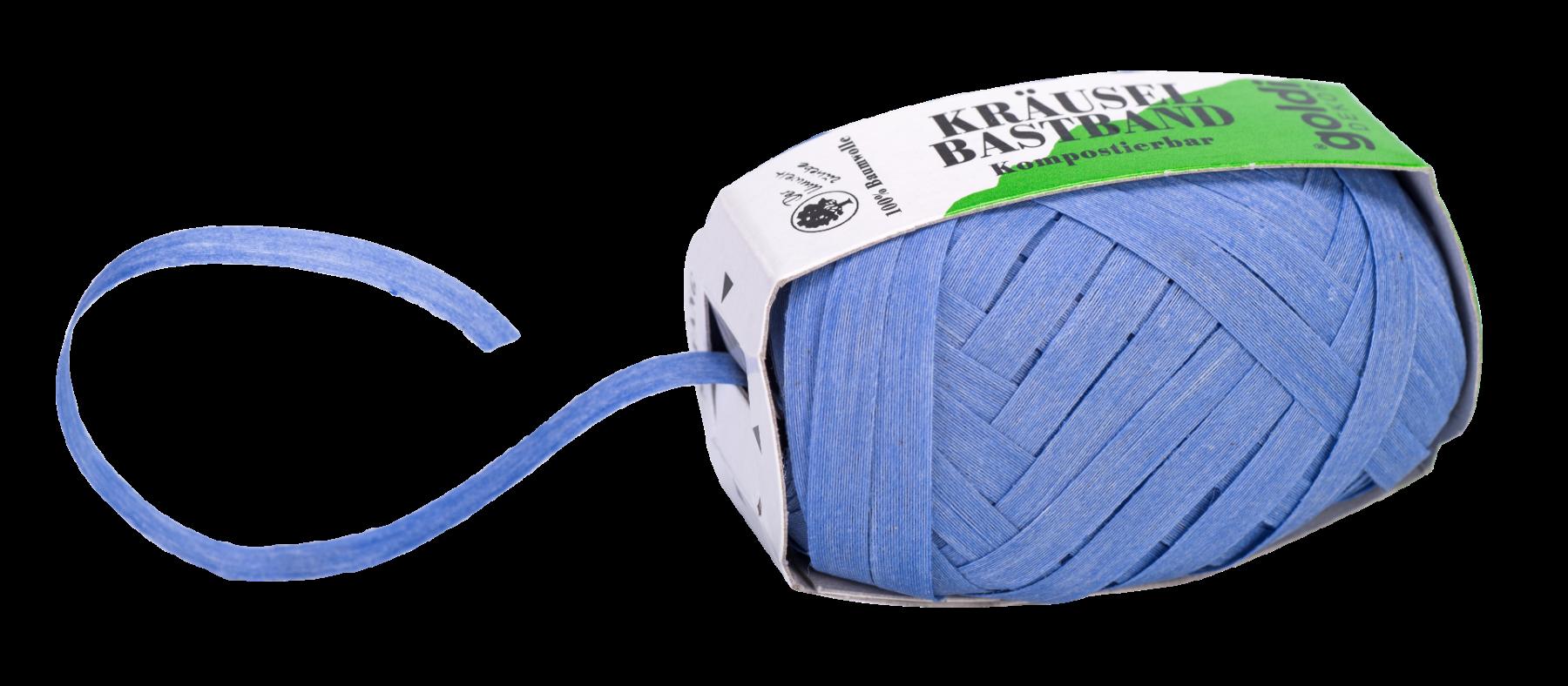 Geschenkband Hell-Blau | Baumwolle
