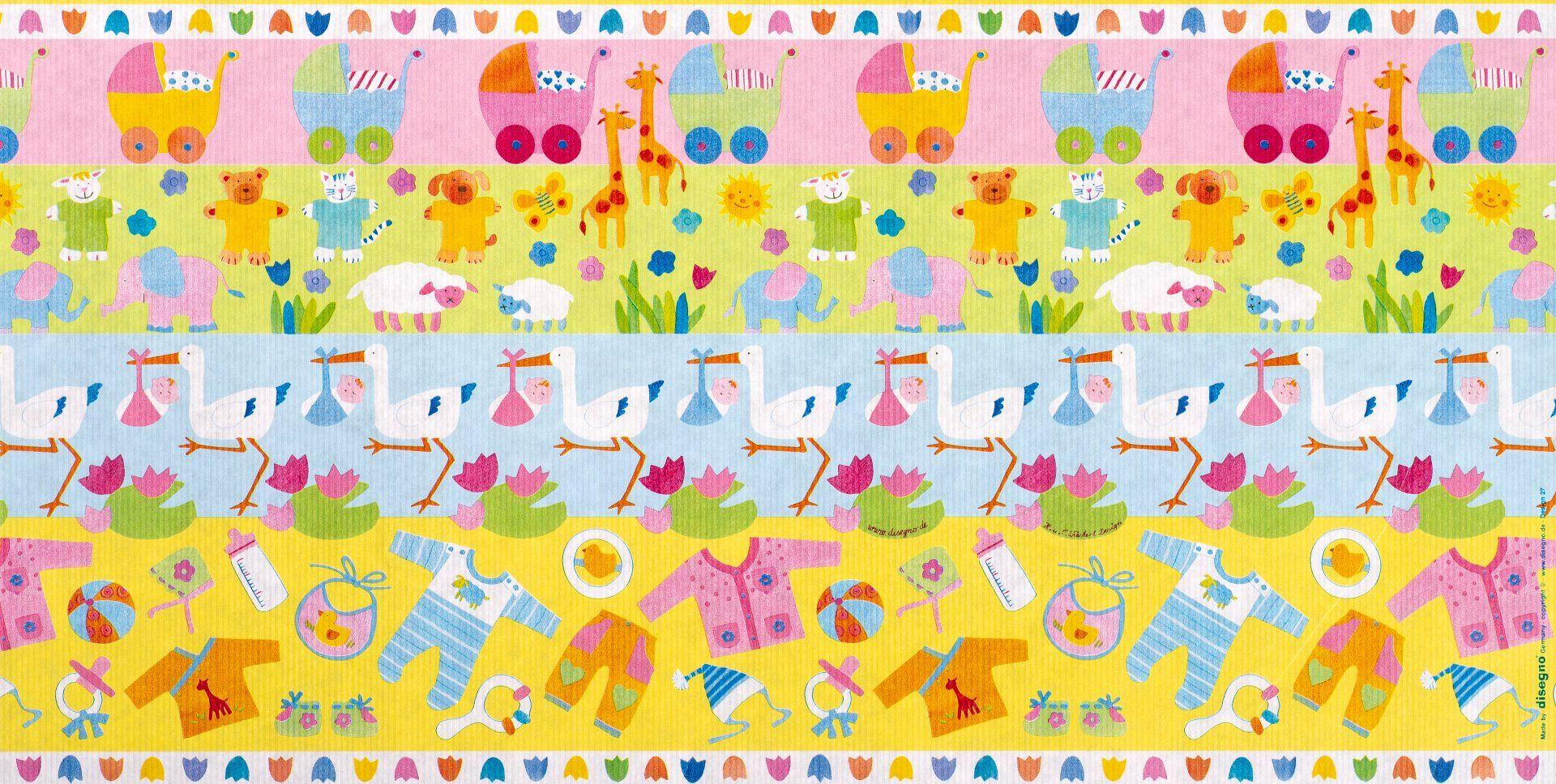 Geschenkpapier Baby | My Baby | Geschenkpapieransicht
