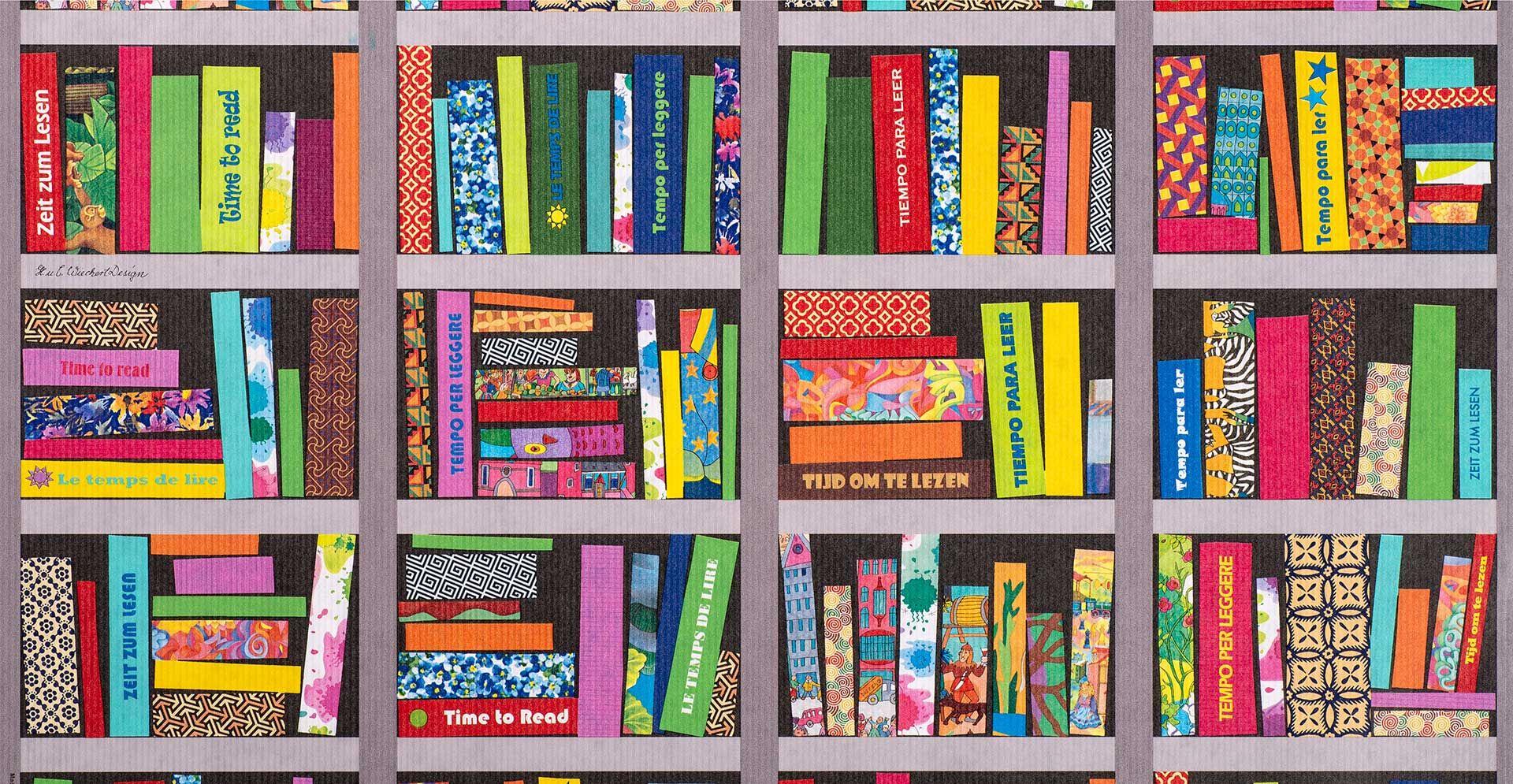 Geschenkpapier Jugend + Erwachsene   Zeit zum Lesen   Geschenkpapieransicht