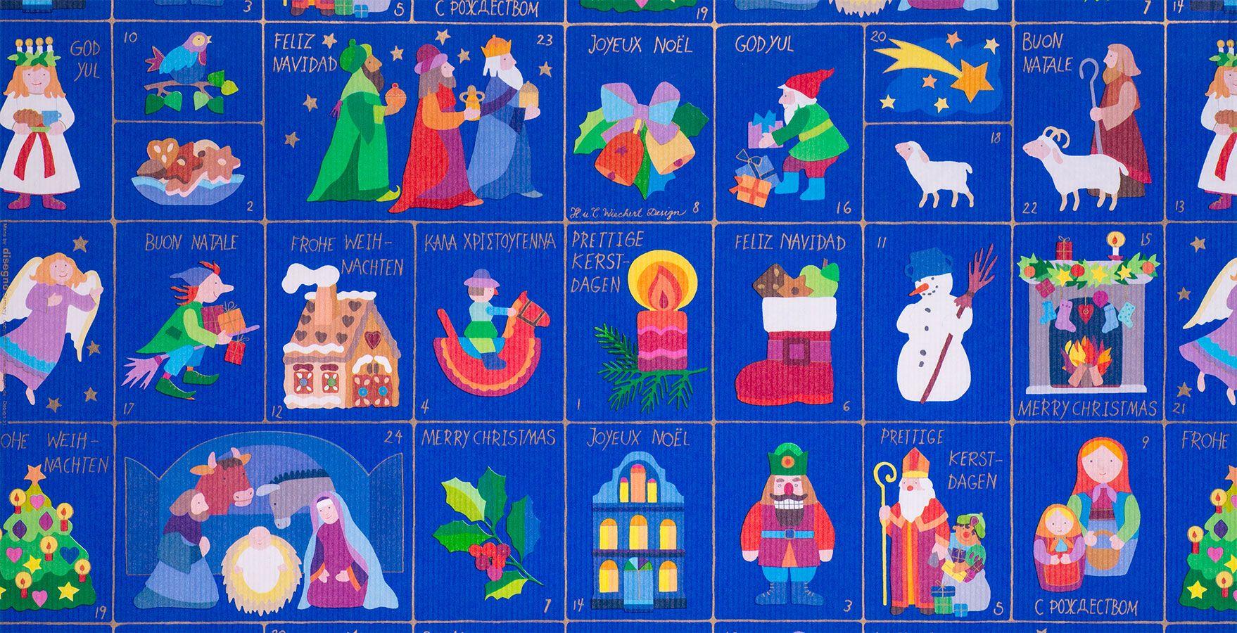 Weihnachts Geschenkpapier | Weihnachtszeit | Geschenkpapier Rollen
