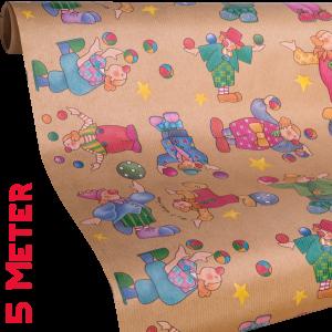 Geschenkpapier Kinder | Pepino Natur | Geschenkpapier Ausschnitt
