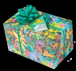 Geschenkpapier Kinder + Jugend | Dschungel | Geschenk