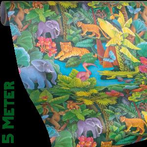Geschenkpapier Kinder + Jugend | Dschungel | Geschenkpapier Ausschnitt