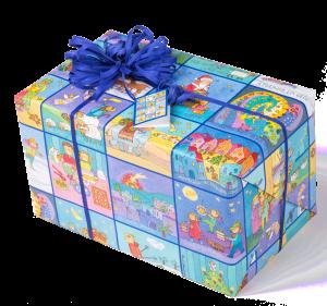 Geschenkpapier Kinder | Memory Weihnachten | Geschenk