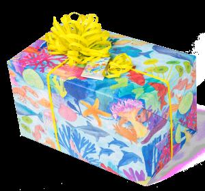 Geschenkpapier Jugend + Erwachsene | Blue Ocean | Geschenk