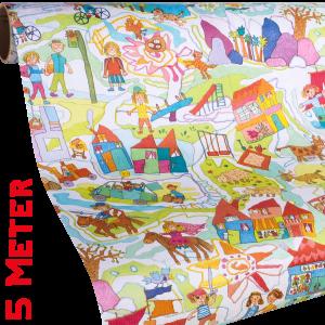 Geschenkpapier Kinder | Kinderzeit | Geschenkpapier Ausschnitt