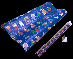 Geschenkpapier Kinder + Jugend | Weihnachtszeit | Geschenkpapier + Geschenkanhänger