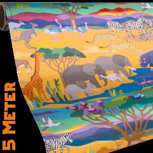Geschenkpapier Kinder + Jugend | Wildlife / Safari | Geschenkpapier Ausschnitt
