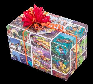 Geschenkpapier Kinder + Jugend | Comic | Geschenk