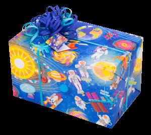 Geschenkpapier Kinder + Jugend | Space | Geschenk