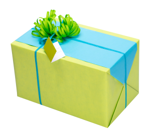 Geschenkpapier Frühling | Geschenk