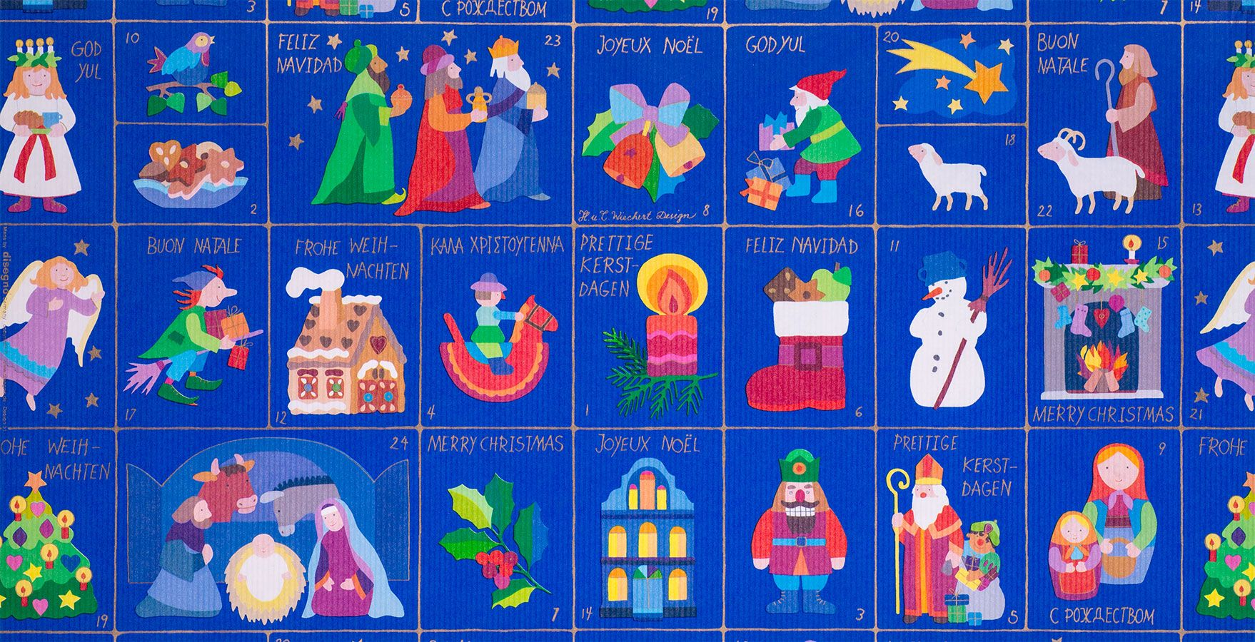Geschenkpapier Kinder + Jugend | Weihnachtszeit | Geschenkpapieransicht
