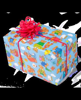 Geschenkpapier Kinder | Brummel Sommer | Geschenk