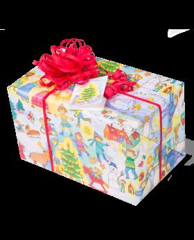 Geschenkpapier Kinder | Kinder Weihnachten | Geschenk