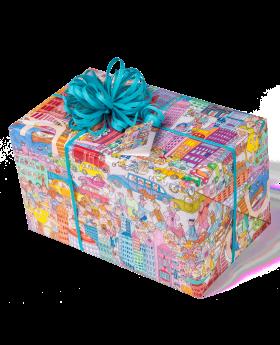 Geschenkpapier Kinder + Jugend | City | Geschenk