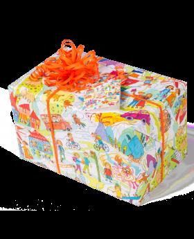 Geschenkpapier Kinder | Kinderzeit | Geschenk