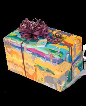 Geschenkpapier Kinder + Jugend | Wildlife / Safari | Geschenk