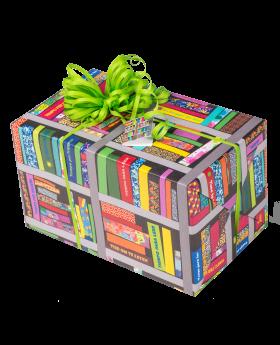 Geschenkpapier Jugend + Erwachsene | Zeit zum Lesen | Geschenk
