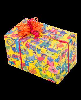 Geschenkpapier Kinder + Jugend | Crazy Party | Geschenk