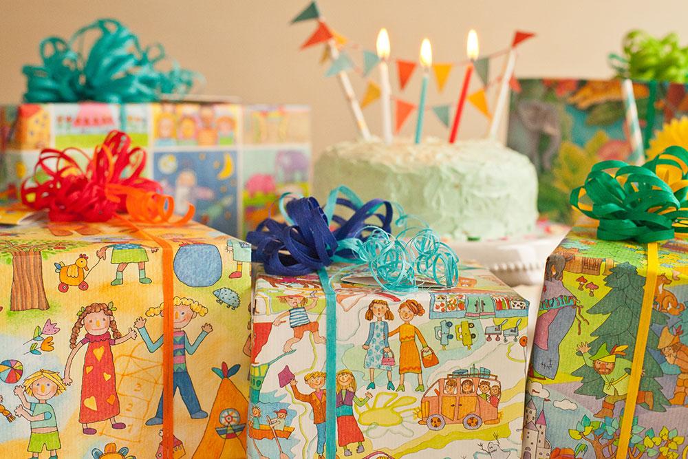 Geburtstags Päckchen Geschenke