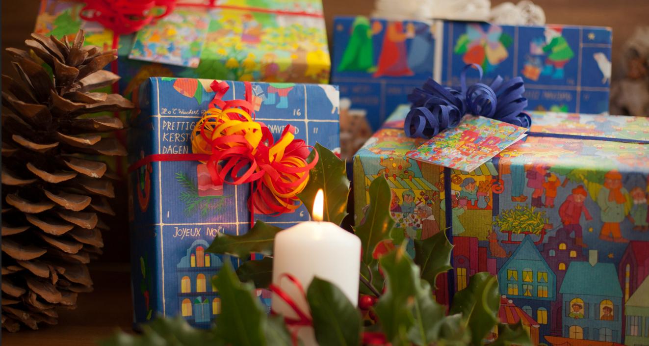 Weihnachtsgeschenkpapier Kinder | Geschenke