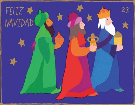 Heilige 3 Könige | Weihnachtsgeschenkpapier Kinder