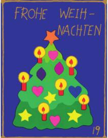 Weihnachtsbaum | Weihnachtsgeschenkpapier Kinder
