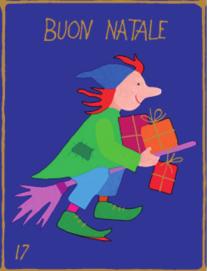 Befana Hexe | Weihnachtsgeschenkpapier Kinder